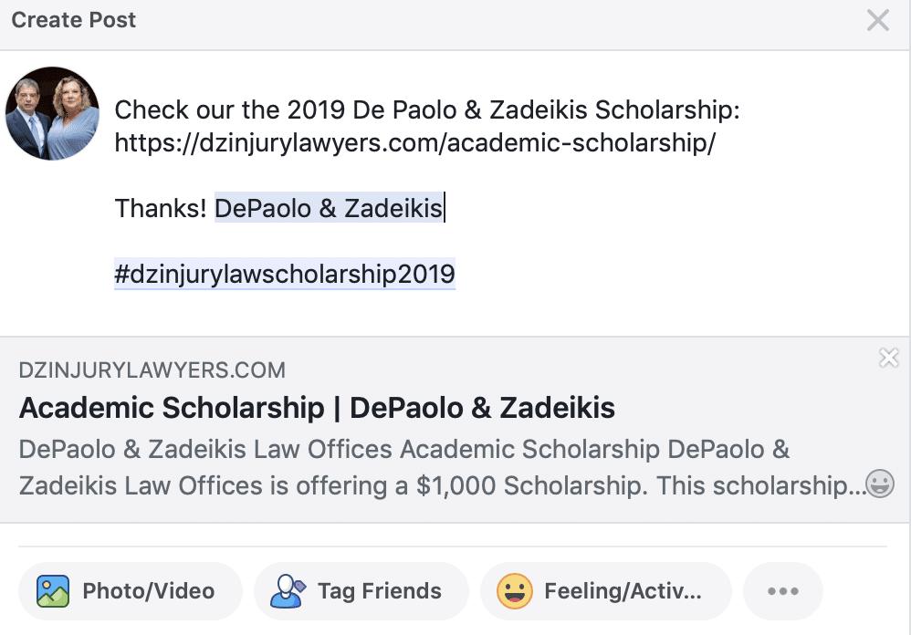 example facebook